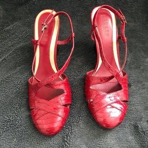 Lauren Ralph Lauren red sandal